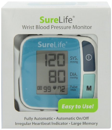 surelife blood pressure monitor review